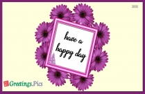 Have A Happy Day Images