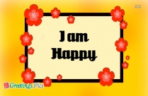 I Am Happy Images