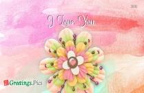 I Love You Greetings For Boyfriend
