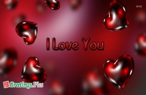 I Love You Greeting Cards Images