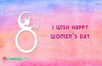 I Wish Happy Women