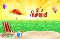 It's Summer Greetings, Wallpaper
