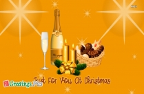Just For You At Christmas