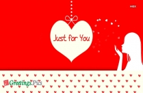 Just For You Banner