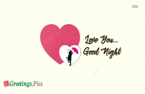 Good Night With Love You Wallpaper