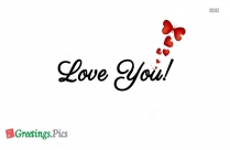 "Personalized ""Love You"" Greetings Pictures, ecards"