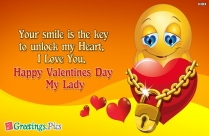 Valentines Day Good Night Greetings