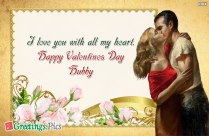 Love You Greetings For Husband