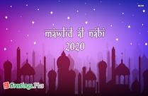 Mawlid Al Nabi 2020