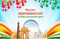 Happy Independence Day! Vande Mataram