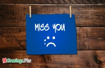 Miss You With Tears Image
