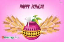 Happy Pongal Greeting Images