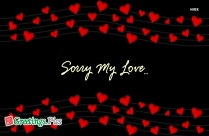 Sorry Greetings For Lover