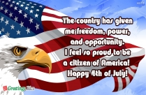 May America Always Flourish And Celebrate Many More Years Of Independence. Happy 4th Of July To All!!