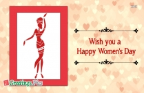 Wish You Happy Women