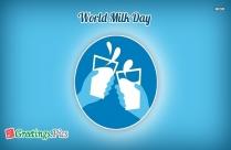 World Milk Day Greetings
