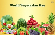 World Vegetarian Day 2018