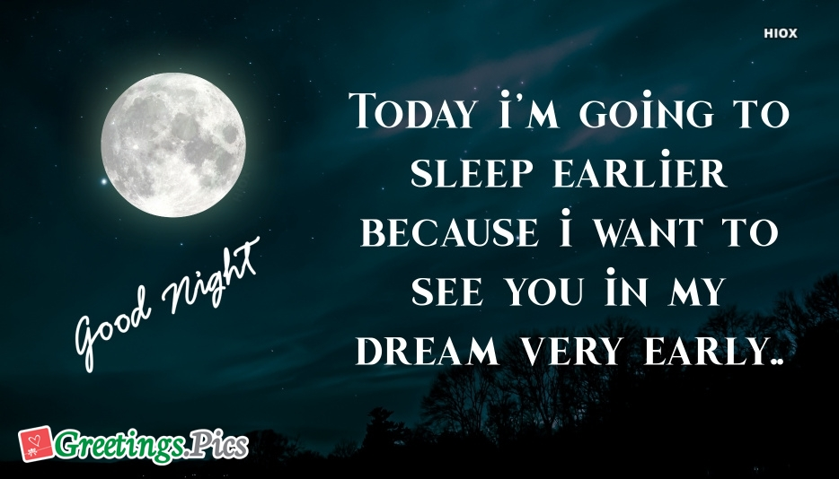 Good Night Love Greetings