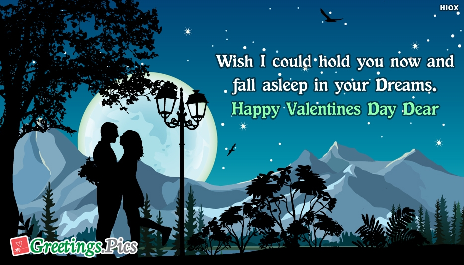 Happy Valentines Day Good Night Greetings