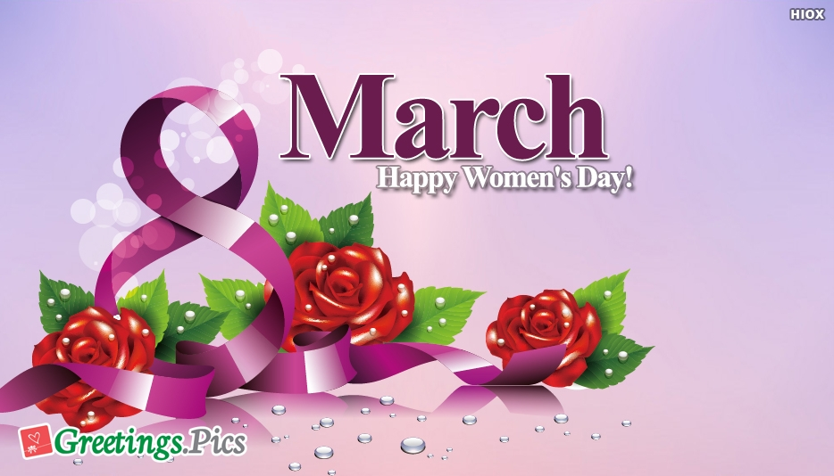 March 8 Greetings, eCards, Images