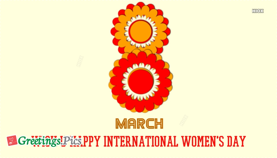 Wish U Happy International Womens Day